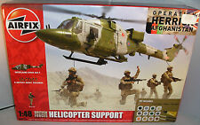 AIRFIX MODEL KITS A50122 BRITISH FORCES HELICOPTER SUPPORT+PAINTS+BRUSHES+GLUE