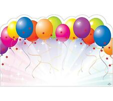 """50ct. Celebrate Party """"BALLOONS"""" Blank Florist Enclosure Cards Small Tags"""