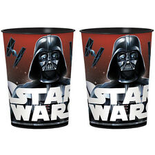 STAR WARS Classic REUSABLE KEEPSAKE CUPS (2) ~ Birthday Party Supplies Favors