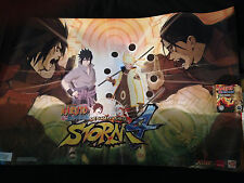 Naruto Shippuden Ultimate Ninja Storm 4 Limited Golden VINYL FIGURE and POSTER