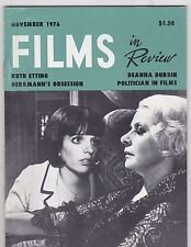 NOV 1976 FILMS IN REVIEW vintage movie magazine - LIZA MINNELLI