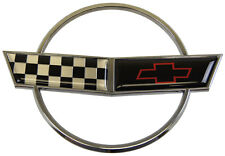 1993 Chevrolet Corvette C4 Front Hood Emblem Chrome 40th Anniversary Edition New