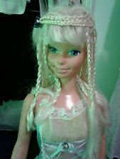 VINTAGE BARBIE DOLL LIFE SIZE 3' MEXICO