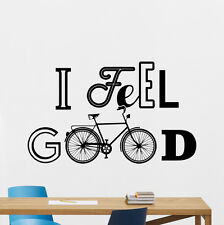 I Feel Good Quote Wall Decal Vinyl Sticker Home Poster Bedroom Decor Mural 16quo