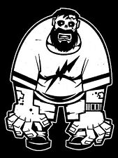 Big Dad Zombie Walking Dead Family Vinyl Decal Sticker