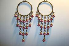 Large Long Indian~Asian Ethnic Boho Chandelier Earrings~ER74~uk seller~