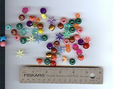 Plastic Beads...Asst. Styles and Colors... 1 LB..Free Ship USA