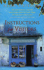 Instructions For Visitors: Life and Love in a French Town,ACCEPTABLE Book