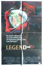 LEGEND TOM CRUISE GENUINE ORIGINAL CINEMA RELEASE VINTAGE1 SHEET MOVIE POSTER