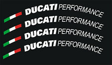 Ducati Performance Wheel, Rim Decal Set, Ducati Superbike 4 Piece ALL Models