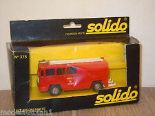 Berliet Gak 17 Fourgon Mixte van Solido France 1:55 in Box *15377