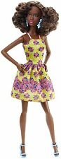 Barbie Fashionista Fancy Flowers Doll Black Skin Doll New