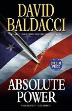 Absolute Power by David Baldacci (2016, Paperback)
