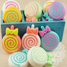 1pc Lenses Glasses Box Lollipop Contact Lens Case Mirror Tweezer Color Random