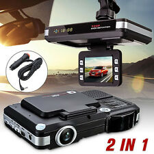 2 in 1 MFP 5MP Auto Video Registrator DVR Recorder Kamera Radar Laser Detector