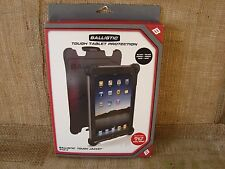 Ballistic Tough Jacket Rugged Hard Case w Stand Cover ipad 2 3 Black White NIB