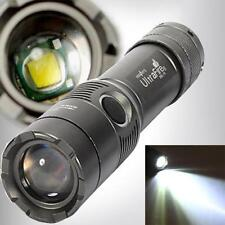 Ultrafire 3000 Lumen CREE XML T6 LED Flashlight 18650 Focus Zoomable Torch Light