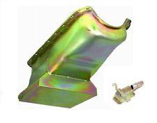 Drag Racing Oil Pan Strip Style 55-79 SB Chevy V8  283 327 350 383 400 Zinc Gold
