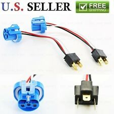 2pc H4 Male to 9007 Female Headlight Conversion Harness Socket Adapter Wire
