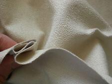 Polsterstoff Alcantara Microfaser Farbe Elfenbein Möbelstoff   Breite 148cm.