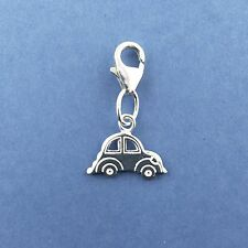 925 Sterling Silver Clip on Car Charm Driving Test New Car
