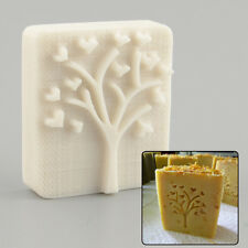 Heart Tree Design Handmade Yellow Resin Soap Stamping Soap Mold Mould DIY