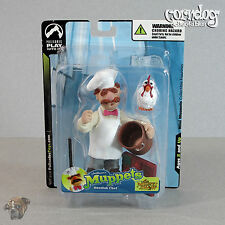 Muppets Palisades Toys Mini Figure Swedish Chef Series 3 New Sealed 2004 Henson
