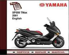 Yamaha XP500 XP 500 TMax 2001 Workshop Service Repair Manual