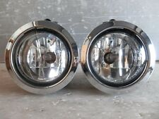 2000 2007 JDM SUBARU IMPREZA WRX GG GD CRYSTAL CHROME FOG LIGHT SET FACTORY OEM