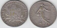 Gertbrolen 2 Francs Argent Type Semeuse 1905