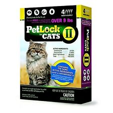 PetLock II for Cats Over 9 lbs - 4 Month Supply -NEW!!