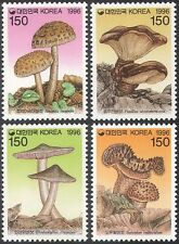 Korea 1996 Fungi/Mushrooms/Plants/Nature 4v set (n41942)