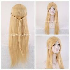 Asuna Yuuki Braided Straight Wig Cosplay Party Wig Lolita Anime Full Wigs HAIR
