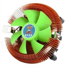 A10 4 PIN PWM CPU COOLER Cooling Fan & Copper Heat sink for 775 1155/56 AMD 1366