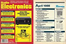 Vintage Electronics Magazines-Radio Electronics 1988-1990,Projects,Hobby,PCB,Fun