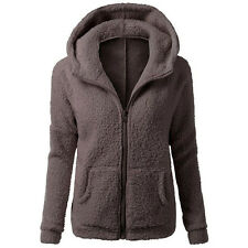 Mujer Abrigo Polar Transición & Invierno Grueso Suave Abrigo Caliente