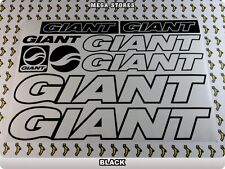GIANT Stickers Decals Bicycles Bikes Cycles Frames Forks Mountain MTB BMX 56U