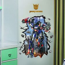 DIY Transformers Optimus Prime Wall Decal Stickers Decor art kids Nursery Mural