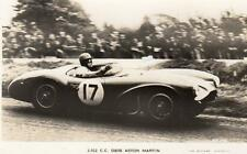 Aston Martin DB3S Reg Parrnell Motor Racing Dunrod 1955 unused RP pc Valentines