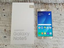Samsung Galaxy Note 5 | T-Mobile | Factory Unlocked | Grade B | Gold Platinum |