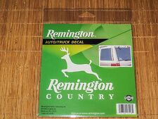Remington Official Auto Decal Sticker - Remington Country Deer - white - NEW