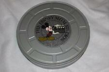 "THE DISNEY MGM STUDIOS TAFFY MOVIE REEL FILM CAN TIN 11"" FEATURING MICKEY"