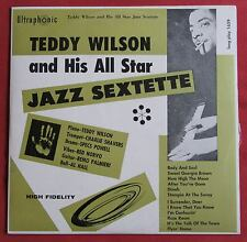 TEDDY WILSON AND HIS ALL STAR JAZZ SEXTETTE    ORIG LP US