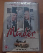 Minder - Complete Series 1-7 DVD [20 Discs] (NEW UK DVD) Free Postage