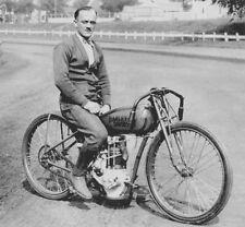 Harley-Davidson Model 21 Peashooter racer & Eddie Brinck – 1927 - motorcycle