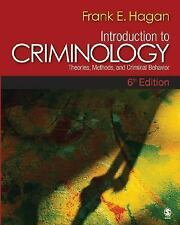 Introduction to Criminology : Theories, Methods, and Criminal Behavior by...