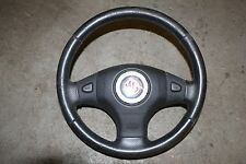 MG ZR /ZSMGF/MGTF/MG TF Black Leather Steering Wheel