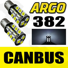 27 SMD LED CANBUS ERROR FREE SUPER WHITE 382 1156 BA15S REAR REVERSING BULBS HID