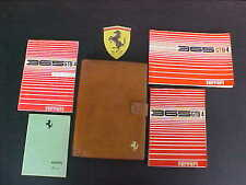 Ferrari 365 Owners Manual_Pouch_Parts Book_Dealer Directory GTB/4 Daytona OEM