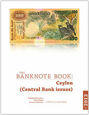 Ceylon chapter from new catalog of world notes, The Banknote Book
